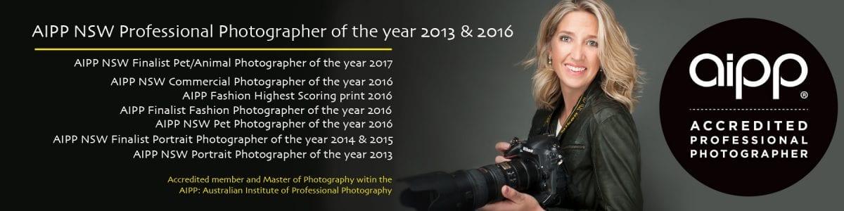 Linda Beks, ME Photography, AIPP Logo