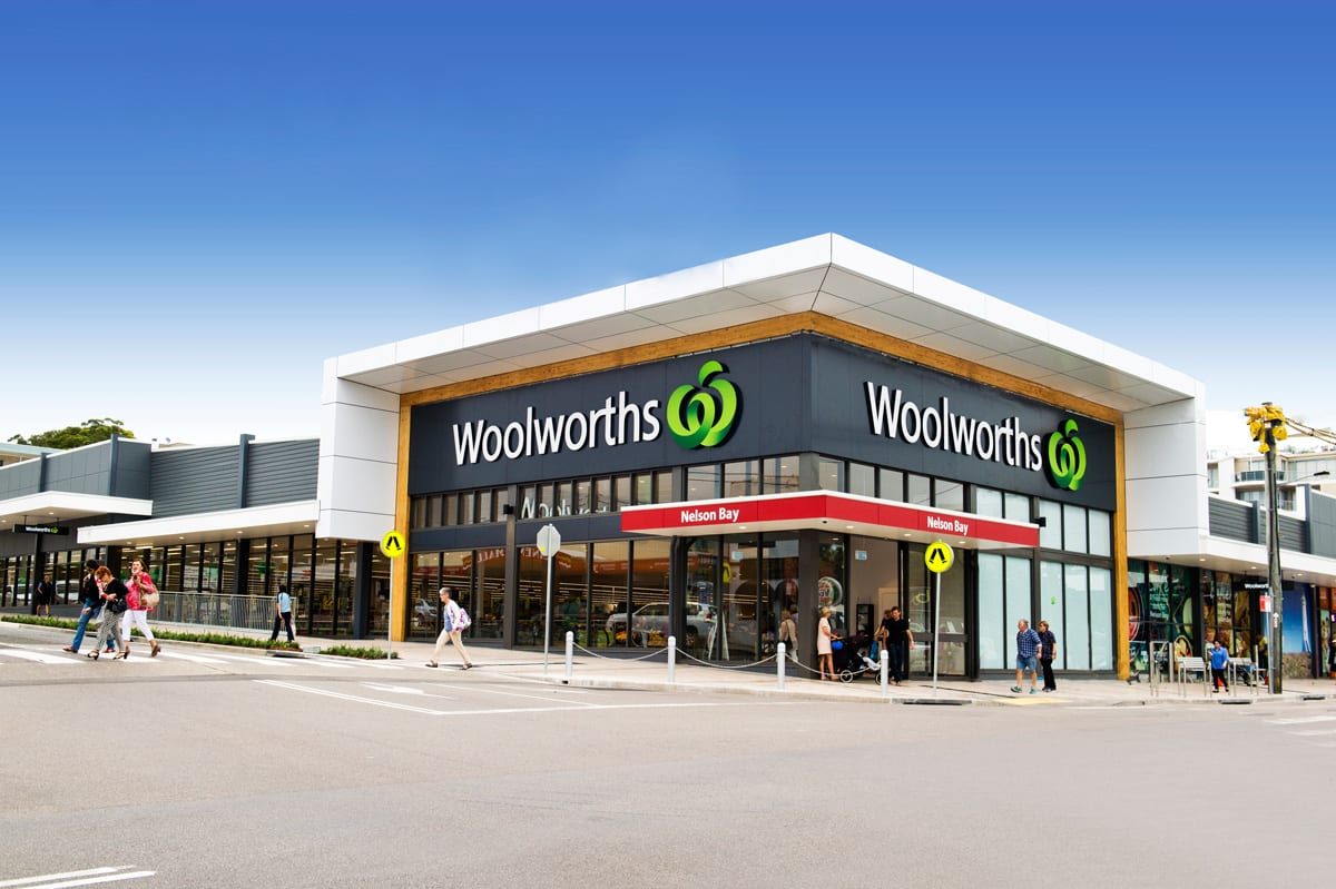 Opening new Woolworths shop in Nelson Bay Port Stephens
