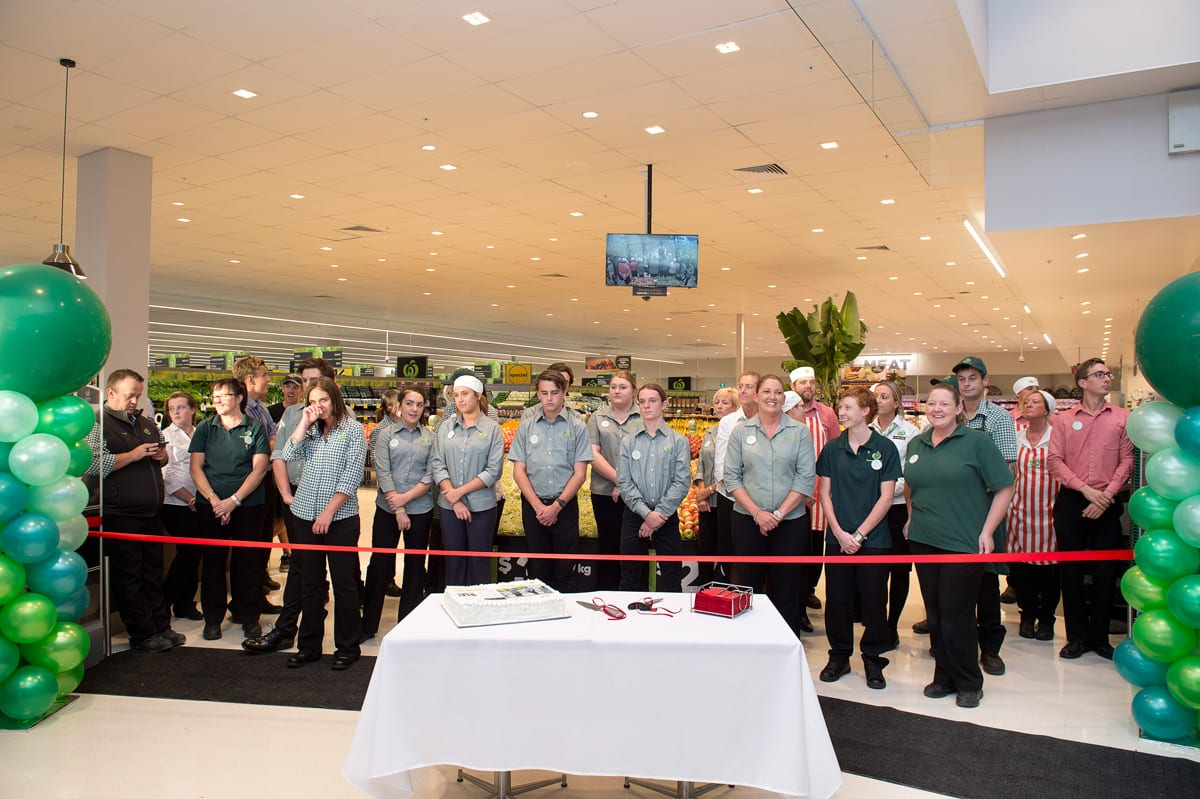 Event photography: All new employers at opening new Woolworths shop in Nelson Bay Port Stephens