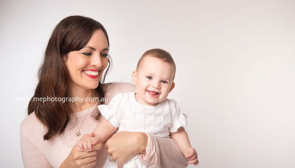 Cute baby shoot with baby Rosie in studio ME Photography