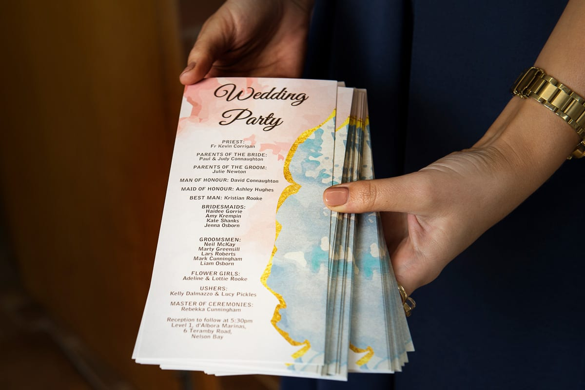 wedding party invites wedding me photography port Stephens