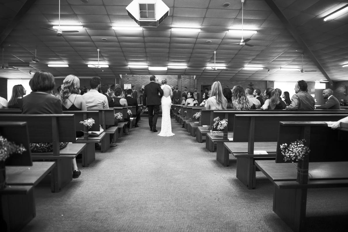 st Michaels Catholic Church wedding port Stephens