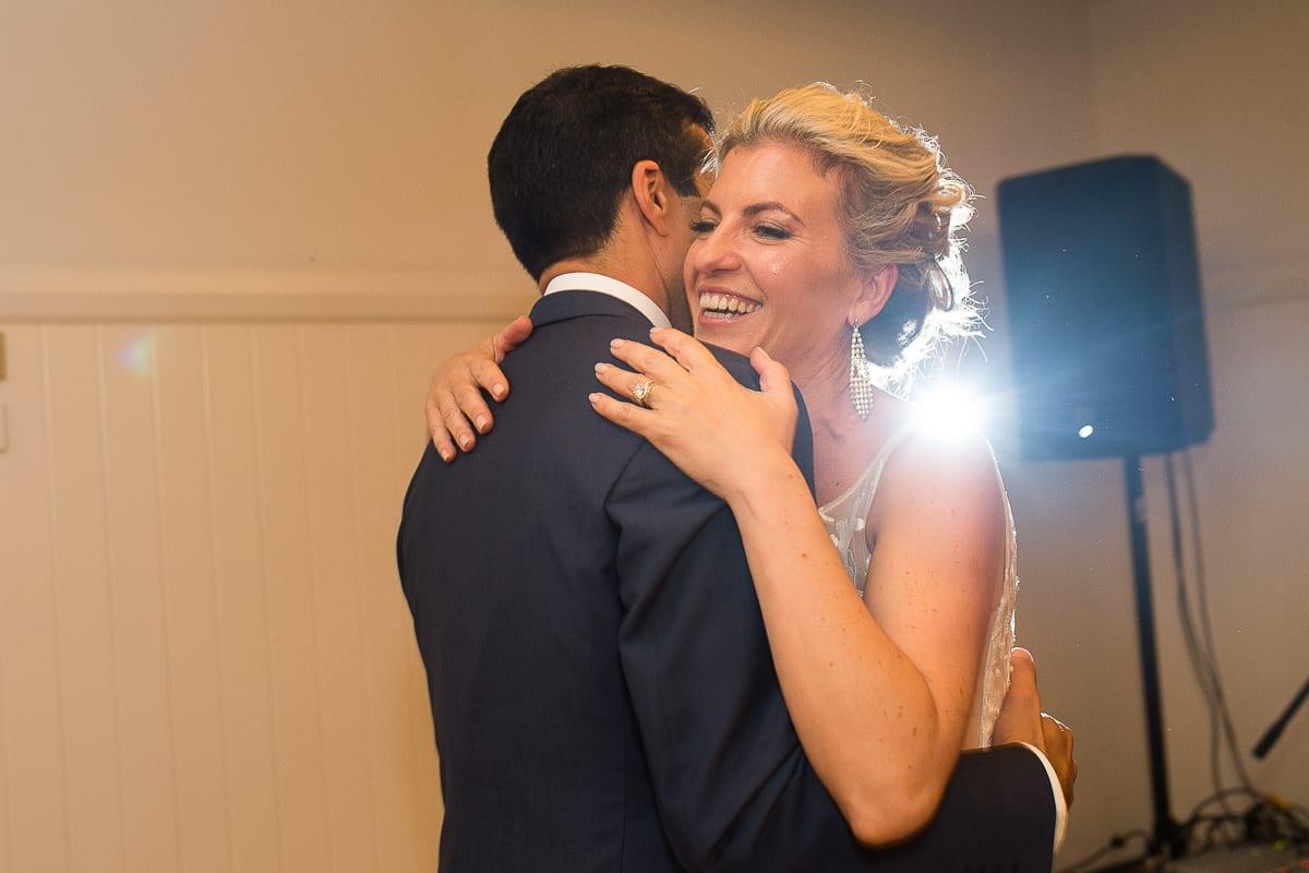 dancephoto bride and groom at Anchorage Port Stephens wedding