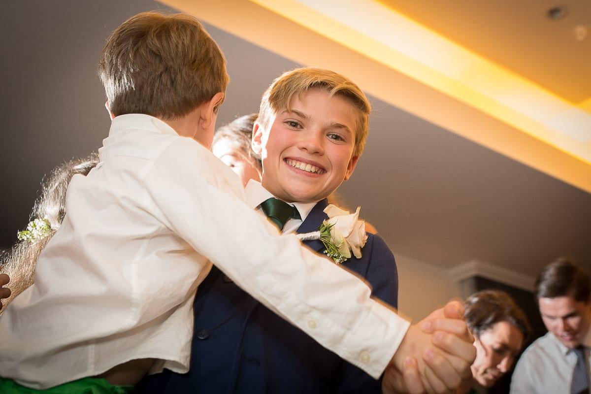 dancing at Anchorage Port Stephens wedding