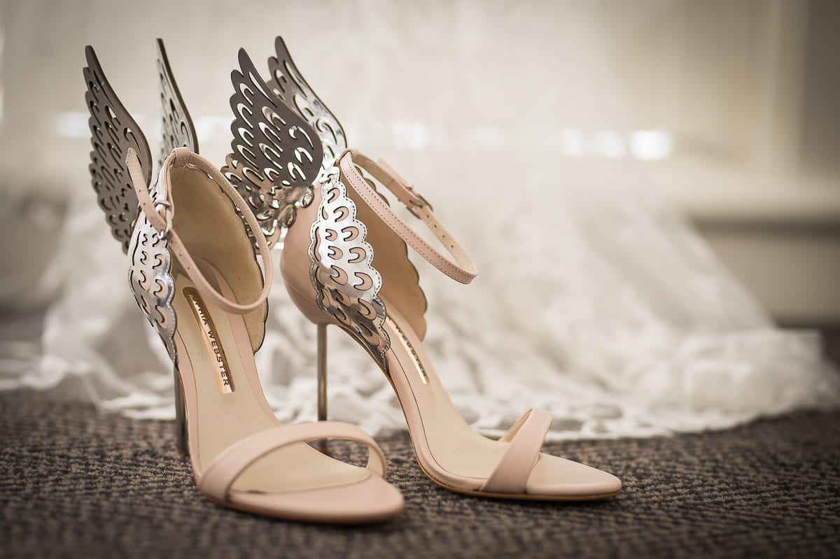 freaking stunning bridal shoes at Anchorage Port Stephens wedding